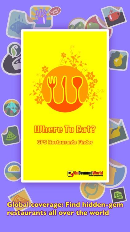 Where To Eat? PRO - Find restaurants using GPS. screenshot-4