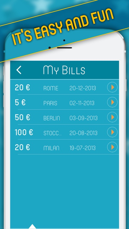 Find The Stars - Track your bill