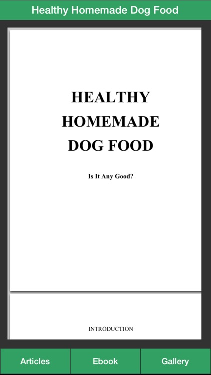 Dog Treat Guide - Homemade Dog Food for Your Dog Healthy ! screenshot-4