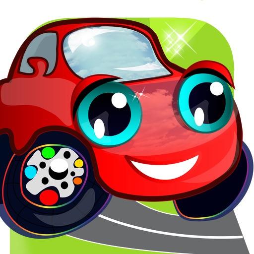 Carros Páginas Para Colorear Y Imprimir Dibujos Animados Para
