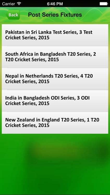Cricket live score App screenshot-3