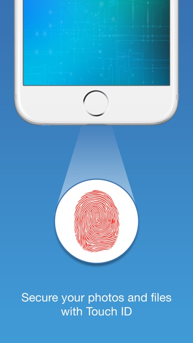 Touch ID Camera Security Manager: Hide Private Secret Photos + Documents screenshot one