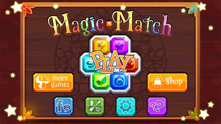 Magic Match - Matching Puzzle Game with Mage Characters screenshot-3