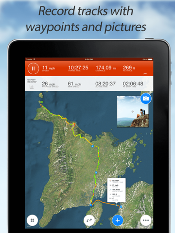 Track Kit - GPS Tracker with offline maps-ipad-0