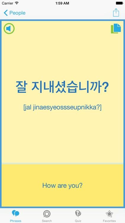 Korean Phrasebook - Travel in Korea with ease