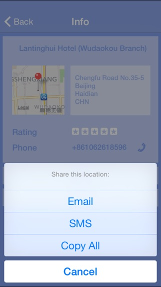 Call a Hotel - Instantly find accomodation, anytime, anywhere. Screenshot 4