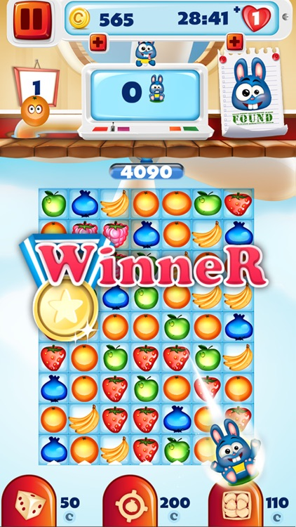 Crazy Fruit Match 3 Game - Infinite Puzzle Adventure and Crush Mania screenshot-3