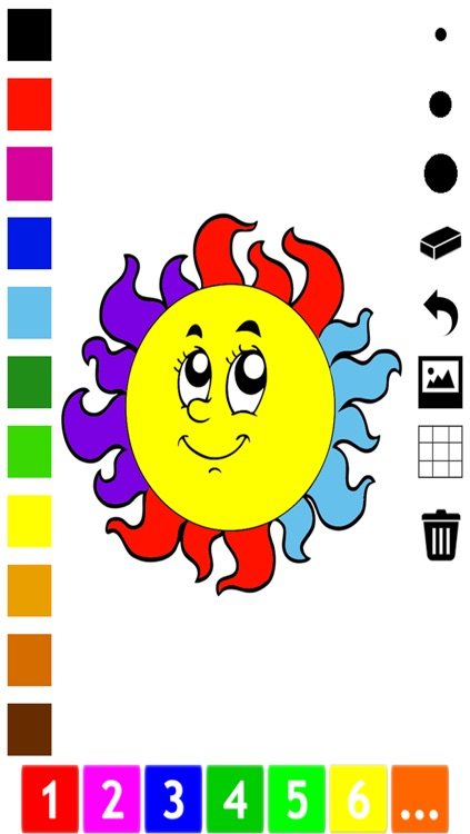 A Weather Coloring Book for Children: Learn to color the world
