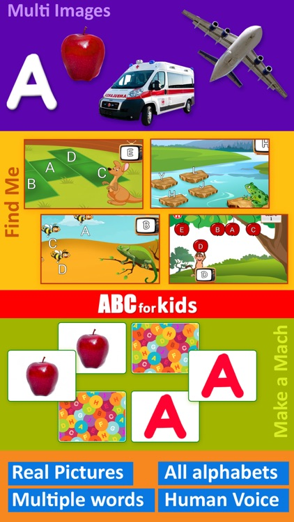 ABC for kids - Preschool games for learning Alphabet Letters and Phonics