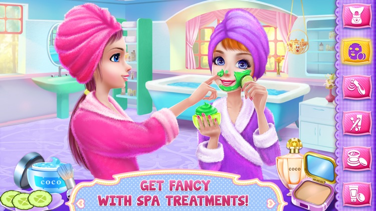 Girls PJ Party - Dress Up, Spa & Fun screenshot-4