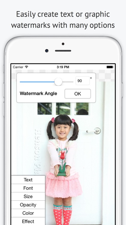 iWatermark - Watermark 1 or Batch of Photos. Watermarking with Text, Logo, & Graphics Overlays.