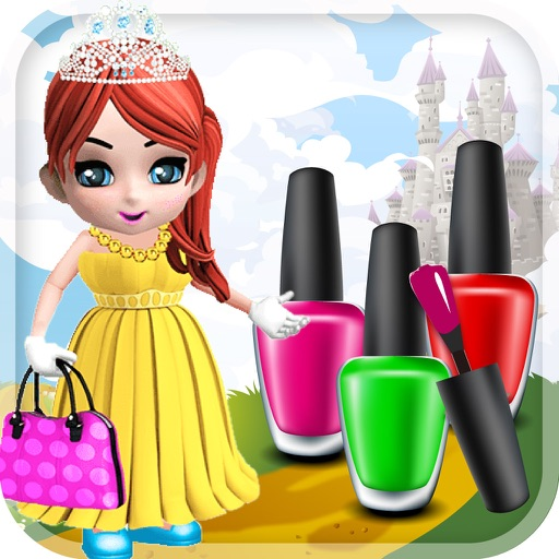 Adorable Princess Nail Salon: My Princess Nail Salon Dream Design Club Game