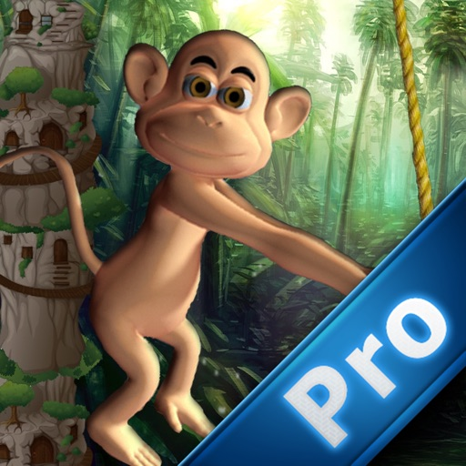 Spider Monkey Rope Aventure Pro icon