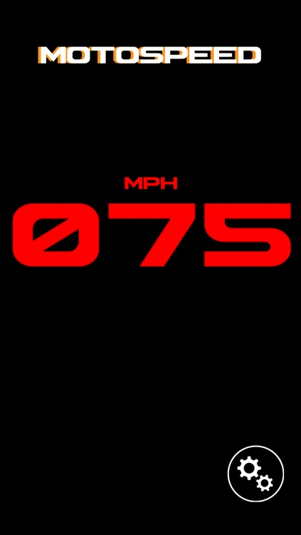 MotoSpeed-Speedometer and Speed Limit Alert System for Motorcycle Rides screenshot-3
