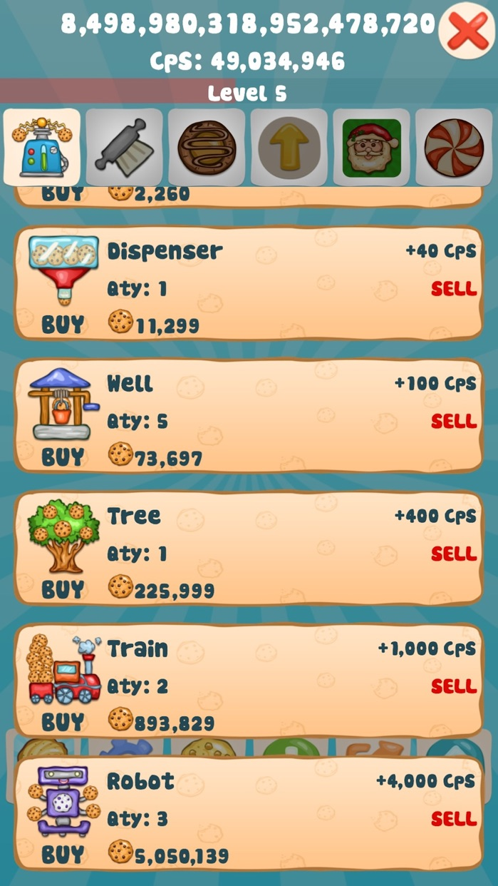 Cookie Clicker Collector - Best Free Idle & Incremental Game Screenshot