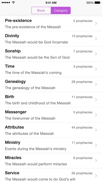 The Messiah - Bible Prophecies about Jesus Christ screenshot-0