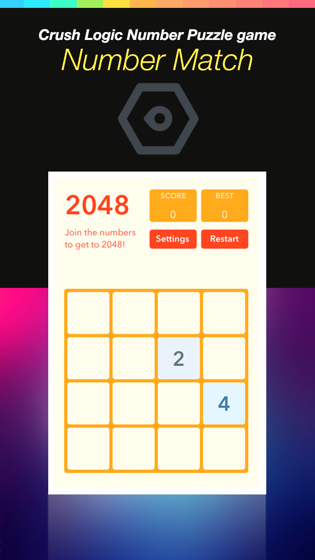 Number Match Hero Plus - Crush Logic Number Puzzle game screenshot two