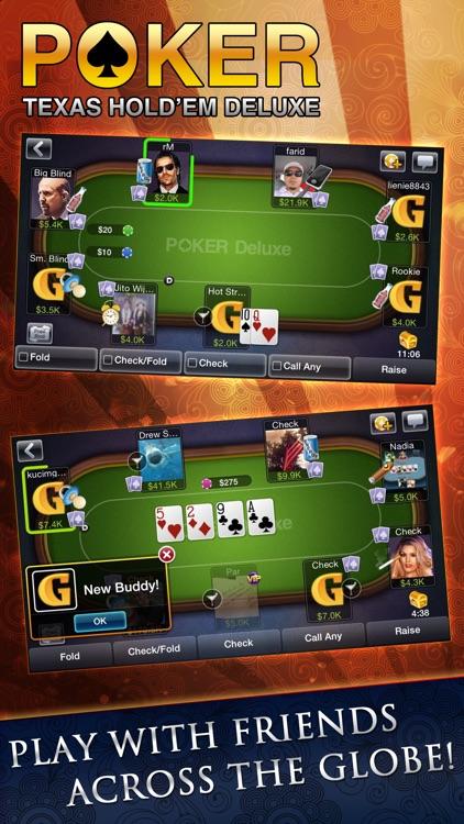 Texas HoldEm Poker Deluxe screenshot-3