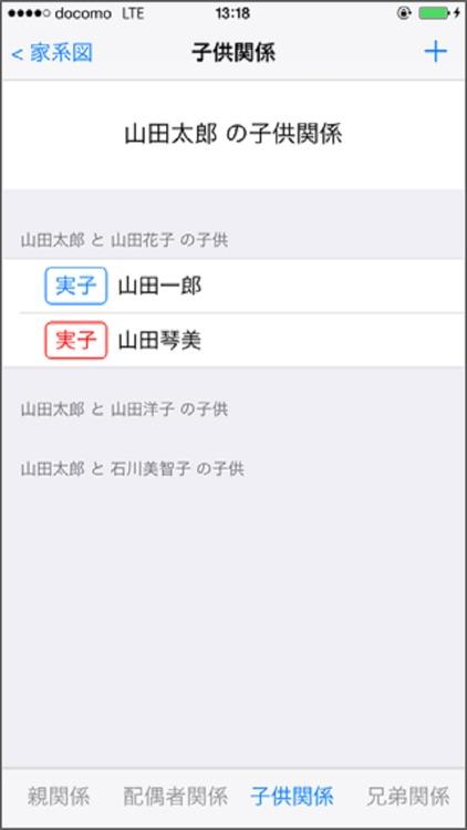 親戚まっぷN for iOS screenshot-3