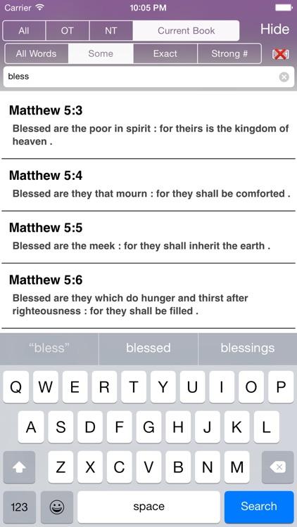 Touch Bible (KJV Holy Bible)