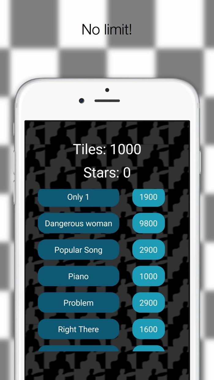 Piano Challenge Ariana Grande Edition Screenshot