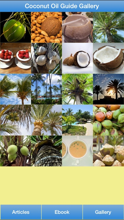 Coconut Oil Guide - All About Coconut Oil For Your Hair and Healthy! screenshot-1