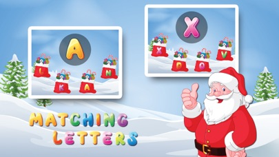 点击获取Letters with Santa Free - Kids Learn Alphabet and Letters