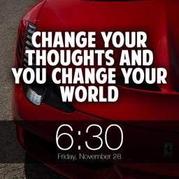 Daily Motivational Quotes Alarm Clock