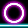 摇滚跳跃闪耀的霓虹激光平台向上挑战100层