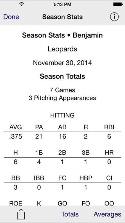 Stat Tap Baseball screenshot-4