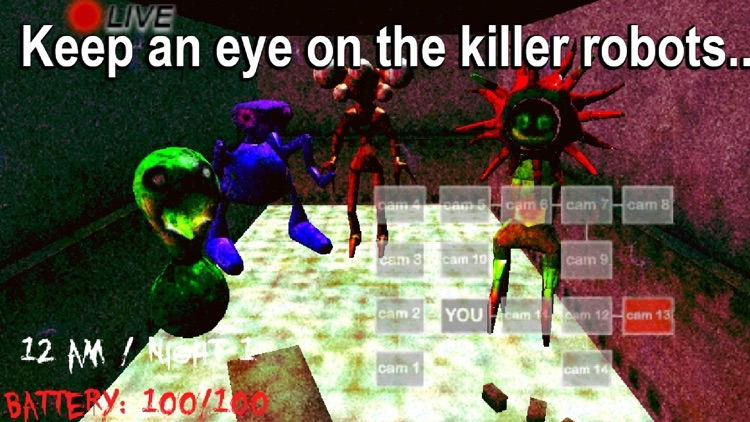 5 Nights in Asylum - Horror Game