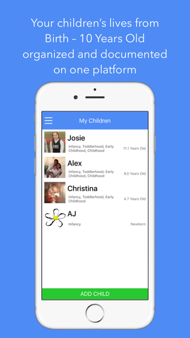 EBIPS the Parenting App screenshot one
