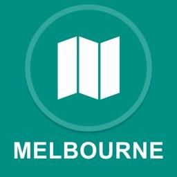 Melbourne, Australia : Offline GPS Navigation