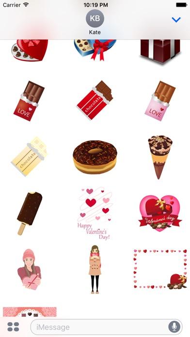 傳達巧克力的愛情屏幕截圖3
