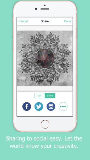 Arte Mandala Disegni Da Colorare Per Adulti Gratis Su App Store