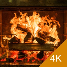 Fireplace 4K - Relaxing Ultra HD Video and Audio
