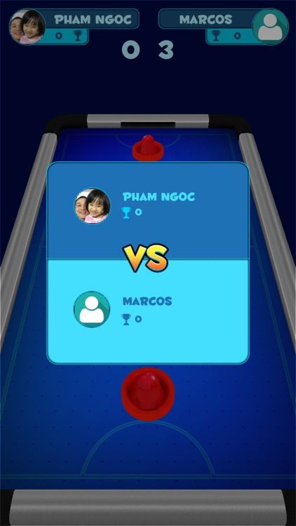 Air Hockey Game 1 2 Players By Pham Quan