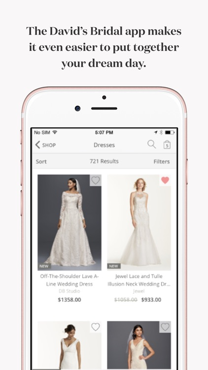 David's Bridal Wedding Dresses screenshot-0