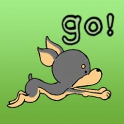 The Miniature Pinscher Dog Stickers