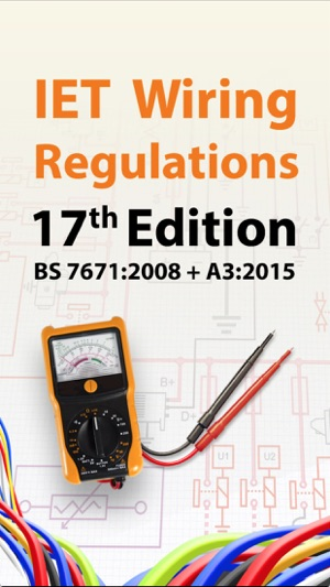 iet wiring regulations 17th edition lite on the app store rh itunes apple com 17th edition wiring regs book iet wiring regs 17th edition
