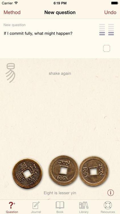 Yi Jing - I Ching - Book of Changes screenshot-0