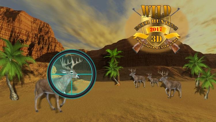 Wild Deer Hunting 2017: Snow Sniper Shooting 3D screenshot-4