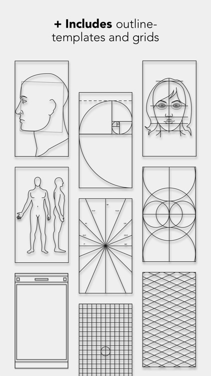 Drawing Grid & Outline Tracing by Myvinchy screenshot-4