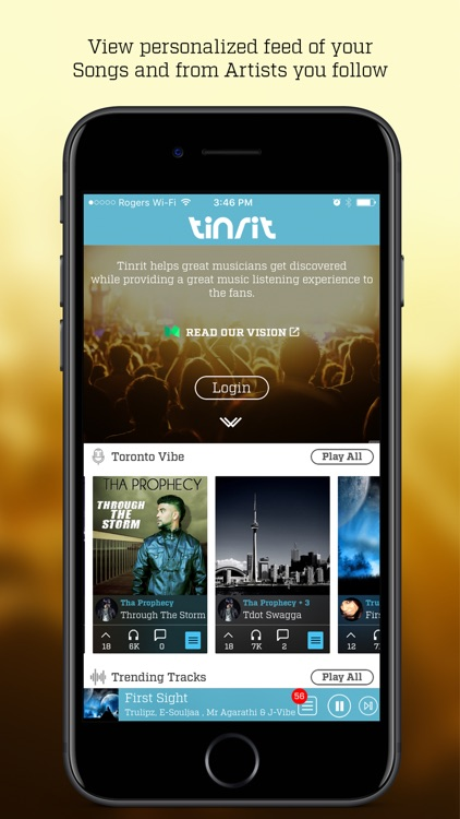 Tinrit Music - music publishing & discovery