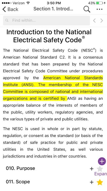 NESC 2017 IEEE App screenshot-3