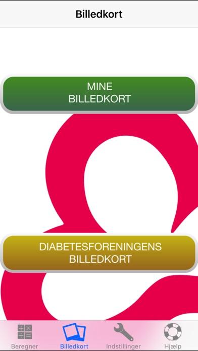 Screenshot for Diabetes og kulhydrattælling in Denmark App Store