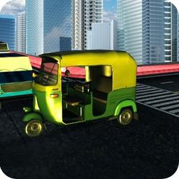 Rickshaw Highway Racer: Tuk Tuk In The Rush