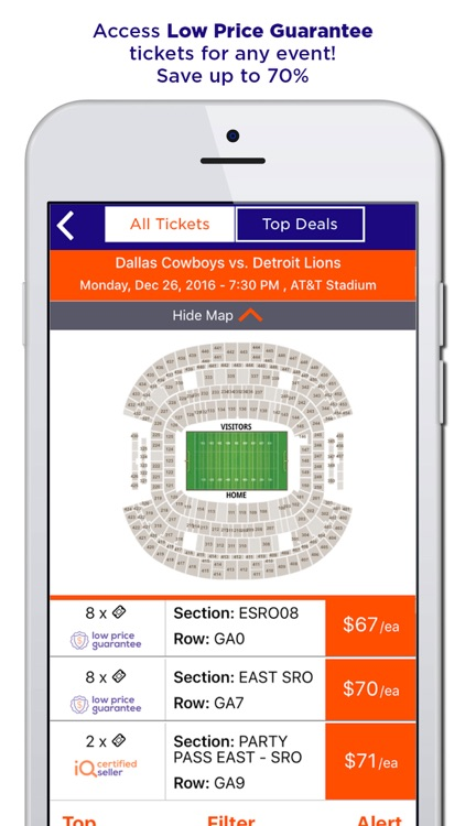 TicketIQ | Low Price Guarantee Event Tickets