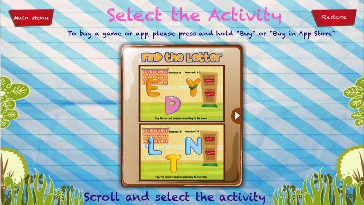 My First ABC's Alphabet Learn and Play screenshot-3