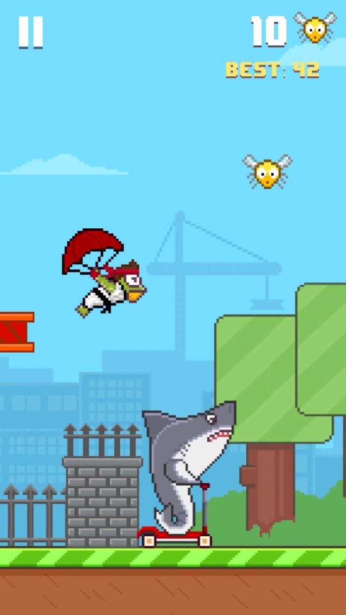 Hoppy Frog 2 - City Escape Screenshot